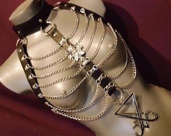 Luciferian Body Skeleton Lilith Harness