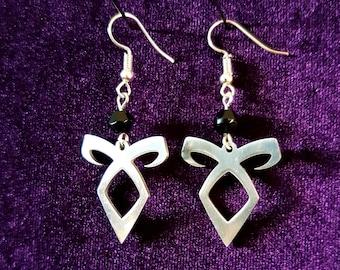 Shadow Hunter Rune Earrings