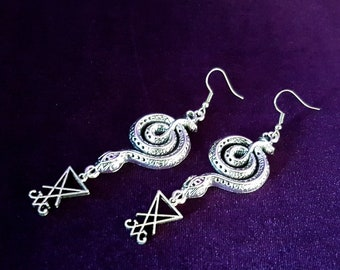 Serpents Call Earrings