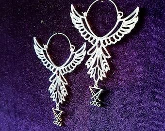 Phoenix Immortallity Earrings (2 Styles)