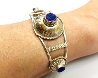 Vintage Lapis Lazuli Bracelet