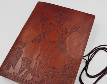 Lilith | Innana | Ishtar Leather Journal | Spellbook