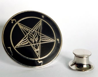 Sigil of Baphomet Label Pins (Bessy Version)