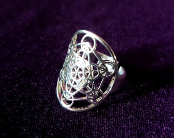 Merkabah Metatron Ring