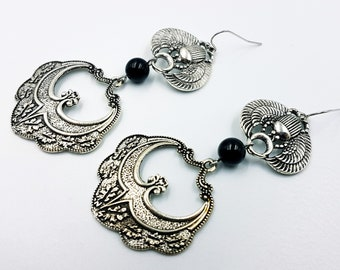 Scarab Ornament Earrings