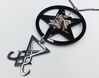 Luciferian Baphomet Necklace