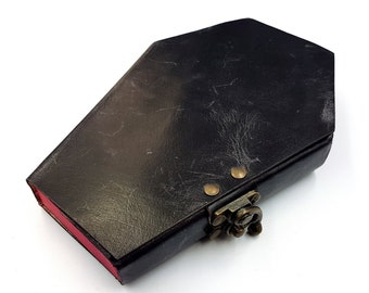 Coffin Leather Journal | Spellbook