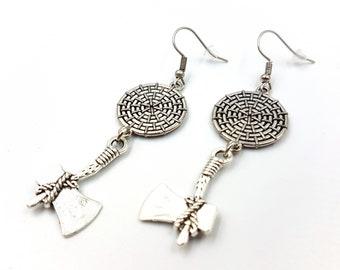 Viking Axe Earrings (2 Styles)