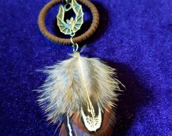 Flying Bat Dreamcatcher