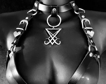Sigil of Lucifer Body Harness
