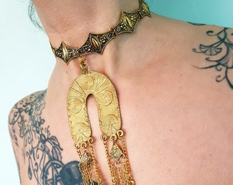 Ankh Choker (Gold colour)