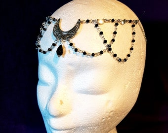 Crescent Moon Tiara