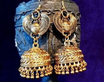 Egyptian Cleopatra Earrings
