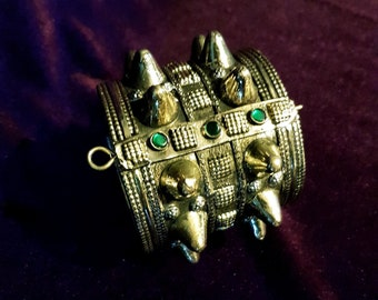 Vintage Double Spikerow Bracelet.