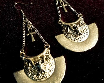The Pit and the Pendulum Earrings