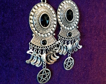 Lunar Witch Earrings.