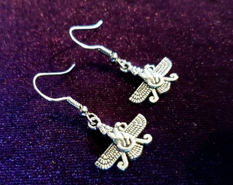 Mini Zoroastrian Earrings