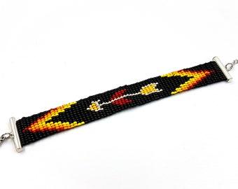 Native American Arrow Bracelet (Miyuki Beads)