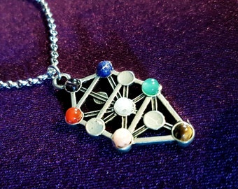 Sephiroth Chakra Gemstone Necklace