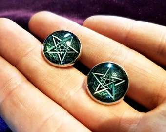 Pentagram Cufflinks