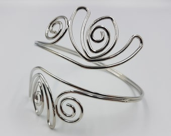 Tribal Spiral Arm Bracelet