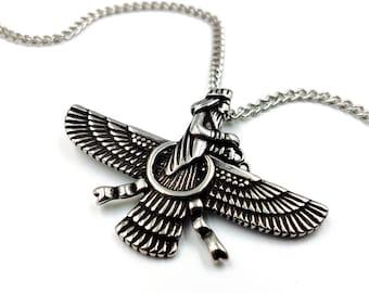 Zoroastrian Pendant (Stainless Steel)