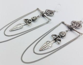 Elegant Shiva Balance Earrings