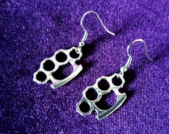 Knuckleduster Earrings
