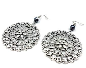 Bohemian Rosette Earrings