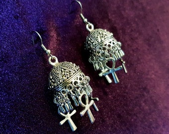Bohemian Ankh Earrings