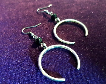 Broken Circle Earrings