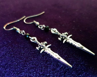 Daggers of Doom Earrings (2 styles)