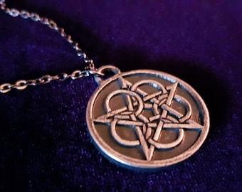 Ringed Pentacle Pendant