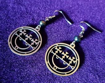 Sigil of Sitri Earrings (Stainless Steel)