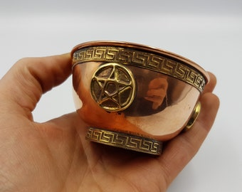 Pentagram Offering Bowl (Copper)