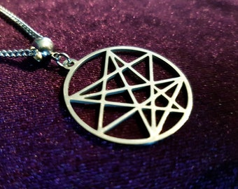 Order of the Nine Angles Pendant (Stainless Steel)