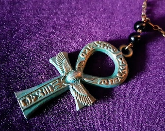 Ode To Isis Ankh Necklace