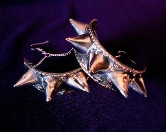 Vintage Spike Hoop Earrings (2 Styles)