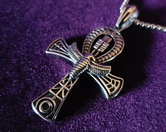 Stainless Steel Ankh Necklace