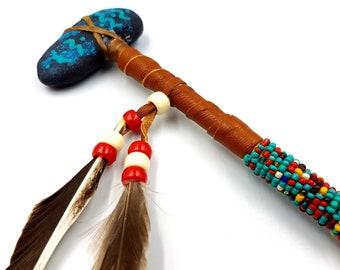 Native American Navajo Mini Stone Tomohawk