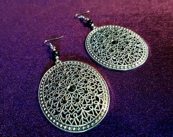 Victorian Ornament Earrings