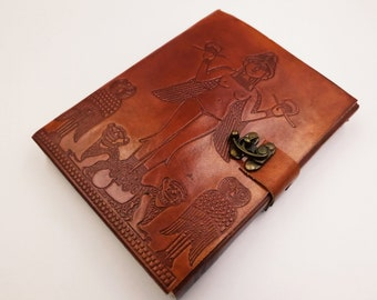 Lilith | Inanna | Ishtar Leather Journal | Spellbook