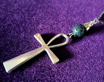 Ankh Rear View Mirror Charm (Car Accessory)