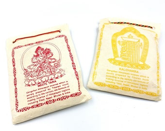 Himalayan Incense prepared by Tibetan Monks (Kalachakra / White Tara)