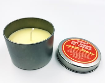 Body Massage Oil Candle