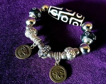 Dzi bead Pharao Bracelet