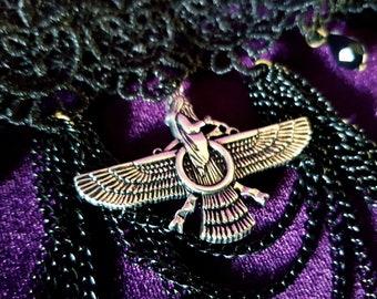 Zoroastrian Black Choker
