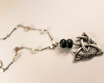 Druidess Moon Necklace