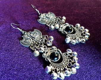 Gothic Victorian Bell Earrings