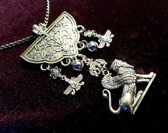 Zoroastrian Lamassu Necklace